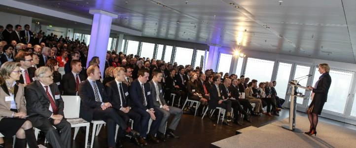 Neujahresempfang des CDU Wirtschaftsrates im Emporio Tower